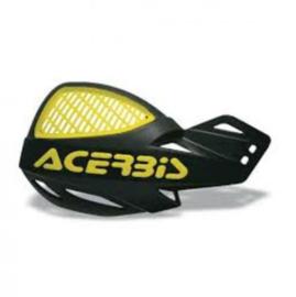 Acerbis handkappen MX Vented Uniko zwart/geel