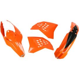 UFO plastic kit voor de EXC 125/200/250/400/450/530 2009-2010 & EXC-F 250 2009-2010 & EXC-E 300 2009-2010 & EXC-R 530 2009-2010