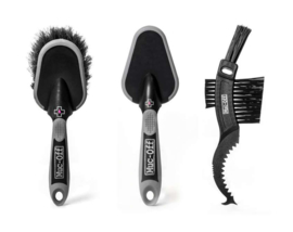 Muc-off borstel set ( 3 )