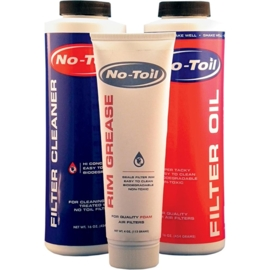 No Toil Maintenance kit luchtfilter olie & cleaner & vet