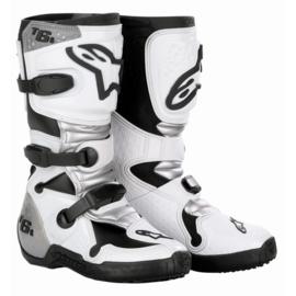 Alpinestars jeugdlaarzen Tech 6S wit/grijs