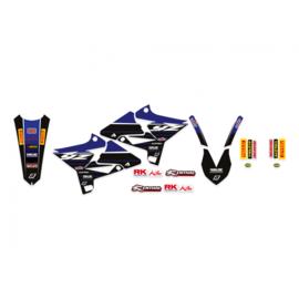 Blackbird Replica Yamaha Racing 20/21 sticker set Yamaha YZ 125/250 2002-2014 ( past alleen op UFO Restyle plastic kit )