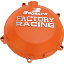 Boyesen Factory Racing koppelingsdeksel Oranje KTM SX-F 450 2016-2018 & EXC-F 500 2017-2018 & Husqvarna FC 450 2016-2018 & FE 450 2017-2018 & FE 501 2017-2018