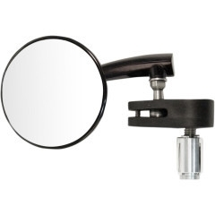 Emgo aluminium bar end spiegel zwart