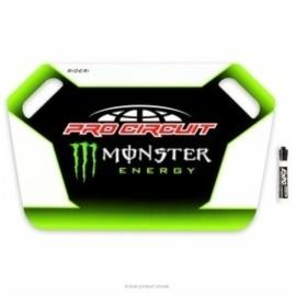 Pro circuit aanwijsbord wit/groen