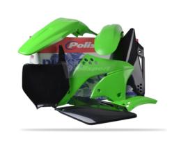 Polisport plastic kit OEM voor de KX 250F 2006-2008