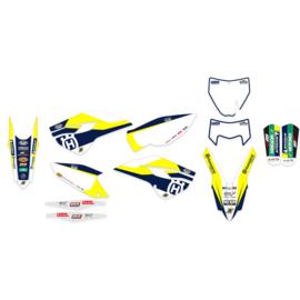 Blackbird Trophy 2019 sticker set Husqvarna TC/FC 125/250/350/450 2014-2015 & TE/FE 250/300/350/450/501 2014-2016