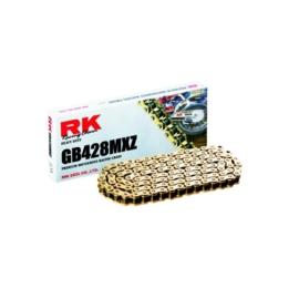 RK ketting GB 428 MXZ 100L goud