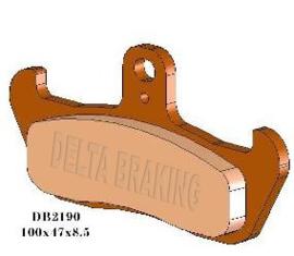 Delta voor remblokken Husqvarna DB2190
