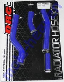 DRC radiator slangen set blauw voor de Yamaha YZ 450F 2006-2009 & WR-F 450 2007-2009