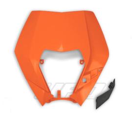 UFO koplamp plastic KTM oranje voor KTM EXC 125/200/250/300 2009-2011 & EXC-F 250/350/450/530 2009-2011 & EXC-F 500 2011