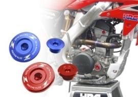 Zeta olie motor plug voor de Kawasaki KX 250F 2011-2019 & KX 450F 2009-2019 & KLX 450R 2008-2015