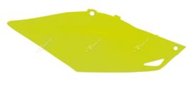 Rtech zijpanelen neon geel voor de Honda CRF 250R 2014-2017 & CRF 450R 2013-2016