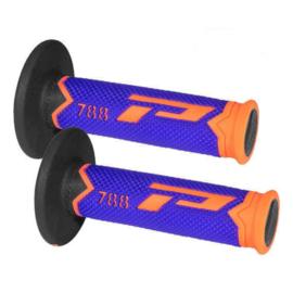 Pro Grip 788 handvaten Tri-Compound Fluor oranje / blauw / zwart