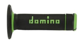 Domino handvaten Waffel X-treme zwart/groen