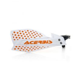 Acerbis handkappen Ultimate wit/oranje