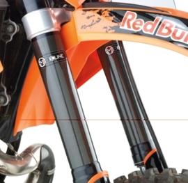 Moose Racing Carbon Fiber voorvorkbescherming