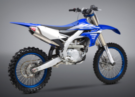 Yoshimura Compleet uitlaat systeem RS-4 rvs demper / carbon eindkap Yamaha YZ 450F 2018