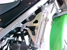 Works Connection Radiator Braces voor de Kawasaki KX 250 2005-2007