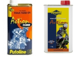 Putoline luchtfilter cleaner & luchtfilter olie ( set ) 1 liter