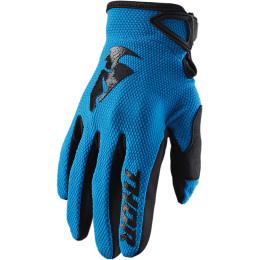 Thor MX handschoenen Sector Blauw