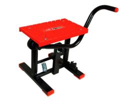 Racetech motorbok lift zwart / rood