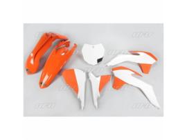 UFO plastic kit OEM 2015 voor KTM SX 125/150 2013-2015 & SX 250 2013-2016 & SX-F 250/350/450 2013-2015