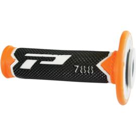 Pro Grip 788 handvaten Tri-Compound grijs / oranje / zwart