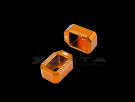 Zeta achteras blokken oranje voor de KTM SX/SX-F/XC/XC-F 125-450 2013-2019