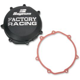 Boyesen Factory Racing koppelingsdeksel Zwart voor de Yamaha WR 450F 2016-2017 & YZ 450F 2010-2018