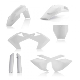 Acerbis wit plastic kit Husqvarna TC 125/150 2016-2018 & TC 250 2017-2018 & FC 250/350/450 2016-2018