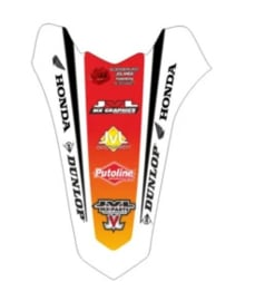Achterspatbord eigen ontwerp voor alle motorcross merken en modellen