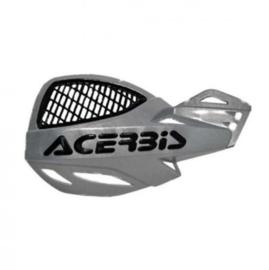 Acerbis handkappen MX Vented Uniko zilver/zwart