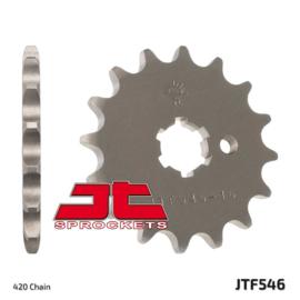 Ketting/Tandwiel kit bestaande uit JT voor en JT achter tandwiel ketting DID 420NZ3 goud Kawasaki KX 80 1986-2000 & KX 85 2001-2018 & KX 100 1987-2018 & Suzuki RM 100 2003