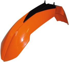 Racetech voorspatbord oranje voor de KTM EXC 125/200/250/300/400/450/500/530 2008-2013 & EXC-F 250/350 2008-2013 & SX 125/150/250 2007-2012 & SX-F 250/350/450/505 2007-2012