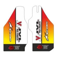 Voorvork beschermers eigen ontwerp voor alle motorcross merken en modellen