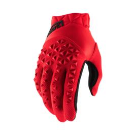 100% handschoenen Airmatic Rood / Zwart