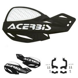 Acerbis handkappen MX Vented Uniko zwart/wit