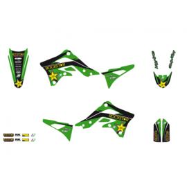 Blackbird Rockstar Energy sticker set Kawasaki KX 250F 2013-2016 & KX 450F 2012-2015