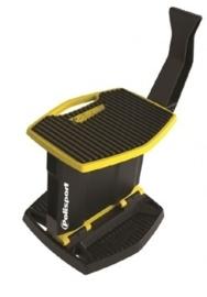 Polisport lift motorbok zwart/geel