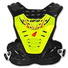 UFO Bodyprotector Reactor 2 geel/zwart ( volwassen maat )