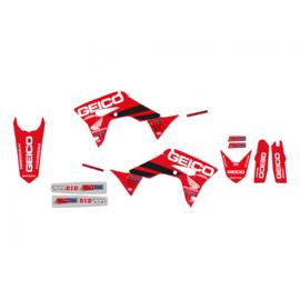 Blackbird Replica Team Honda Geico D'Cor sticker set Honda CRF 250R 2018-2021 & CRF 450R 2017-2020 & CRF 250RX 2019-2021 & CRF 450RX 2017-2020