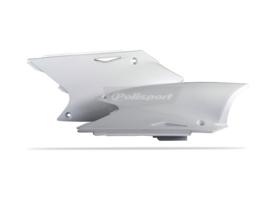 Polisport zijpanelen wit voor de KXF 250 2004-2005