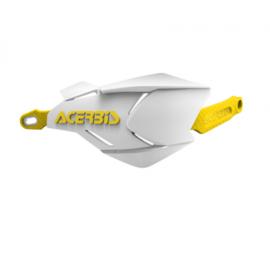Acerbis handkappen X-Factory wit/geel