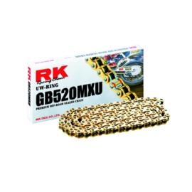 RK ketting GB 520 MXU 120L goud