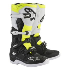 Alpinestars laarzen Tech 5 zwart/wit/geel