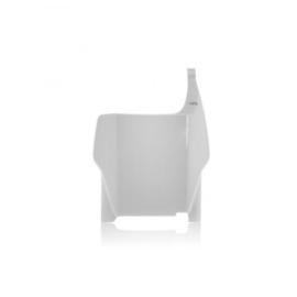 Acerbis voornummerplaat wit voor de CR125R/250R 2004-2007 & CRF250R/450R 2004-2007