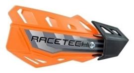 Rtech handkappen FLX oranje + bevestiging set