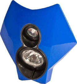 Trail Tech koplamp kit X2 70 watt HID blauw