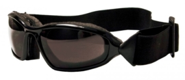 Jopa zonnebril Rattler zwart-smoke